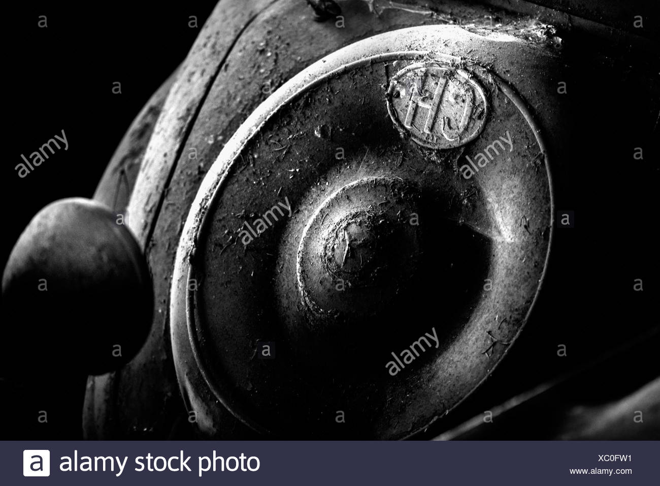 Oldtimer-detail Stockbild