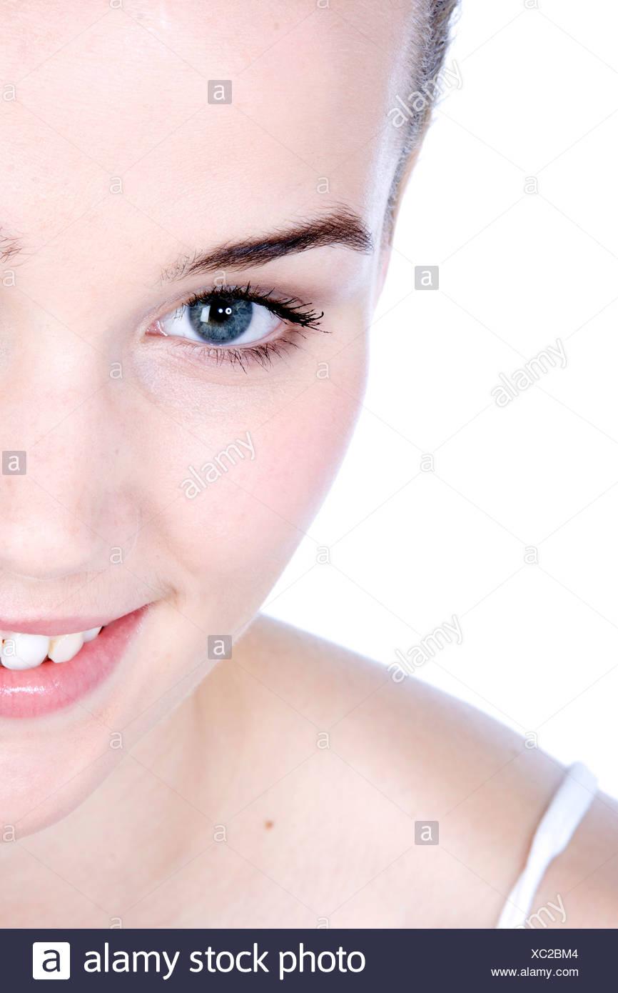 Heiße weibliche Teenager-Nacktheit
