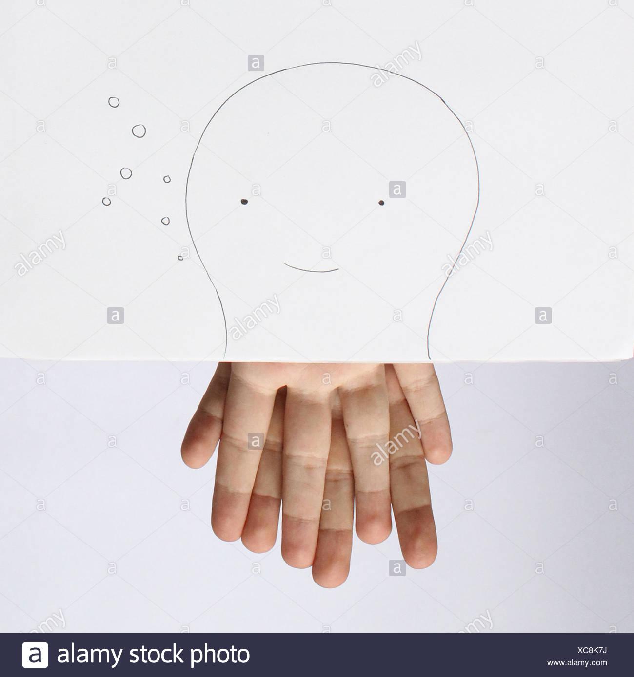 Konzeptbild von octopus Stockbild