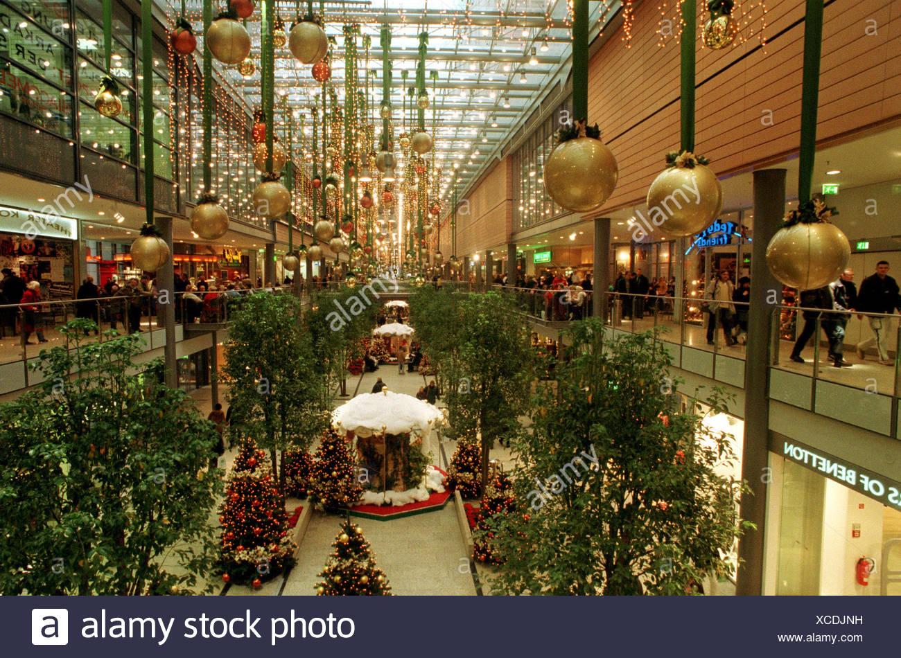 Potsdamer Platz Arkaden Stockbild
