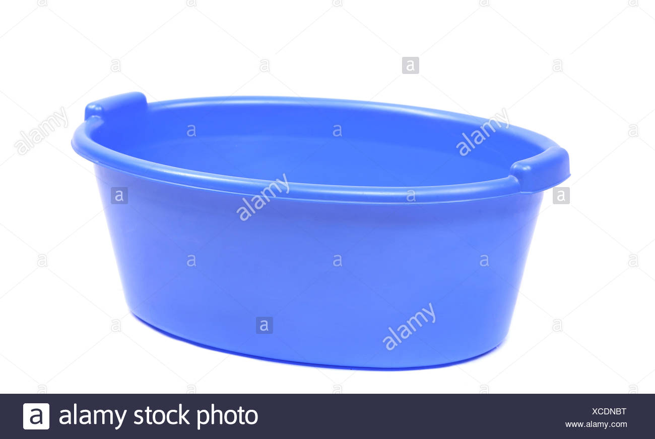 Blaue kunststoff waschbecken stockfoto bild 283043932 for Kunststoff waschbecken