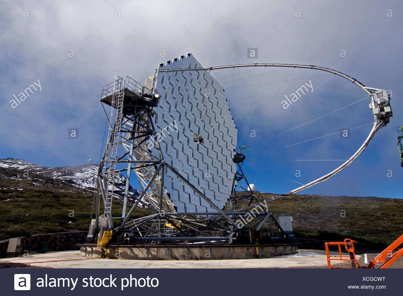 Spanien kanaren teleskop astronomie astrophysik spiegel kanaren