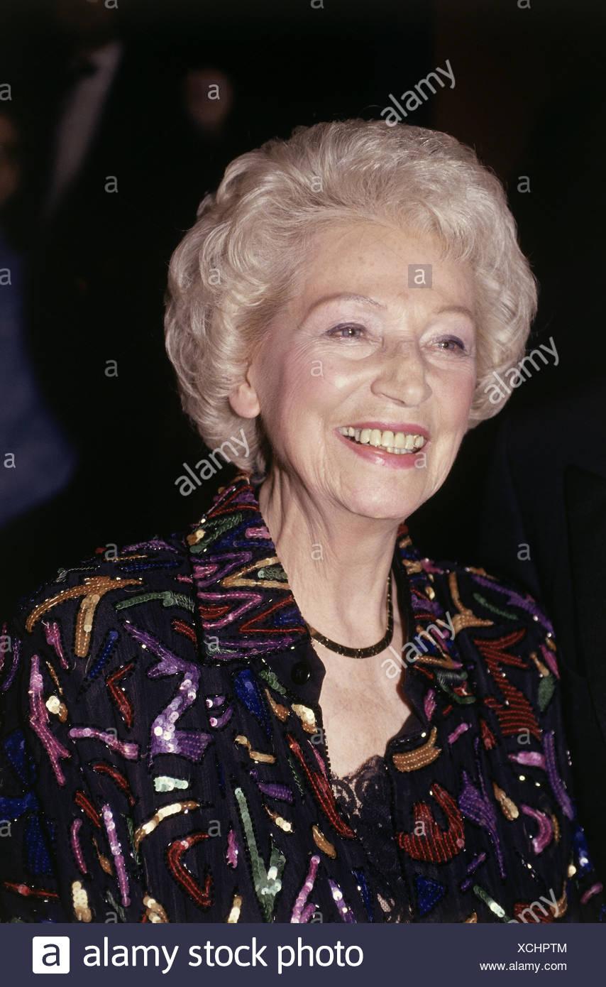 Renger, Annemarie, 7.10.1919 - 3.3.2008, deutscher Politiker (SPD), Porträt, Film Festival, München, 1993, Präsident des Bundes Stockbild