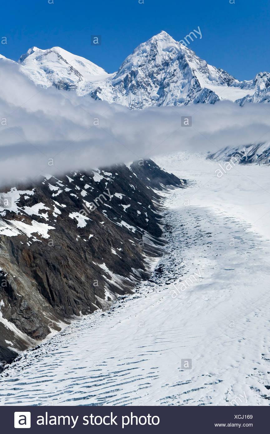 Margerie Gletscher Glacier Bay National Park Alaska Film Fotografie Kodak Portra 160 Stockfotografie Alamy