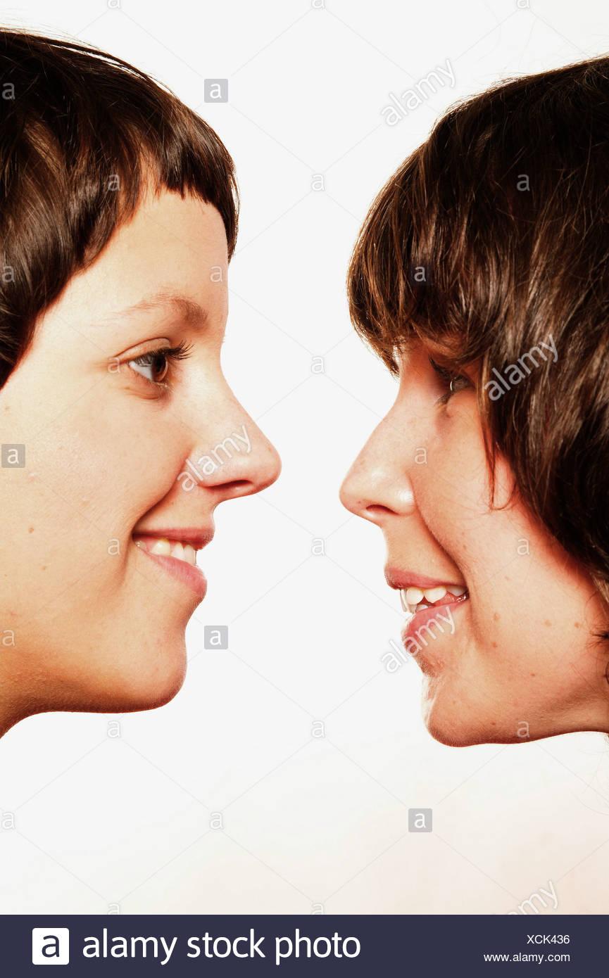 Frauen und Zuneigung