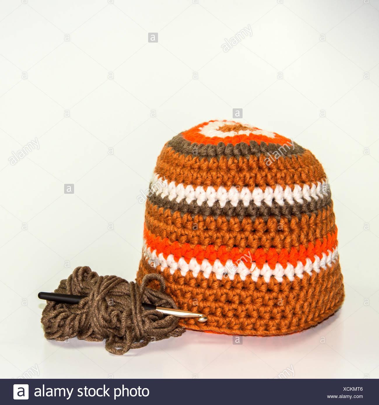 Häkeln Wolle Hat Stockfoto Bild 283175206 Alamy