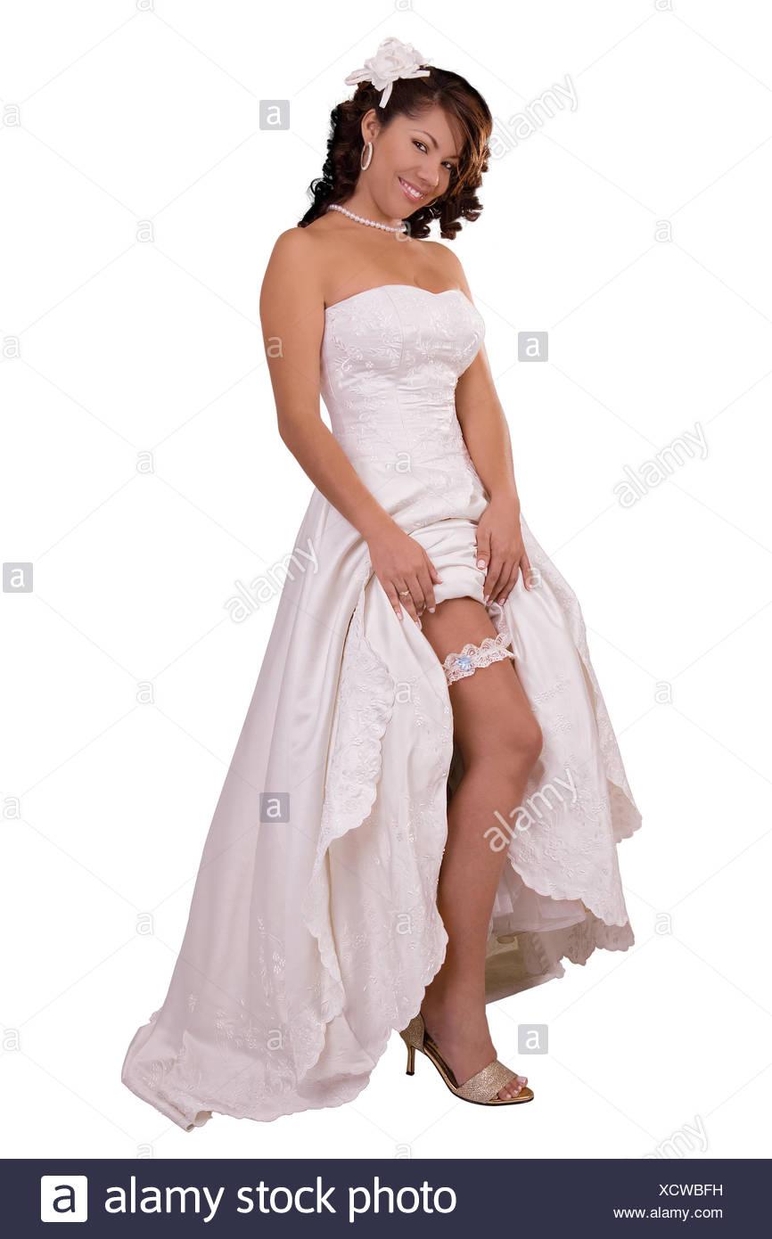 sports shoes ef778 67f9f Geben Sie Show zeigen Bein Hochzeit Kleid Strumpfband ...