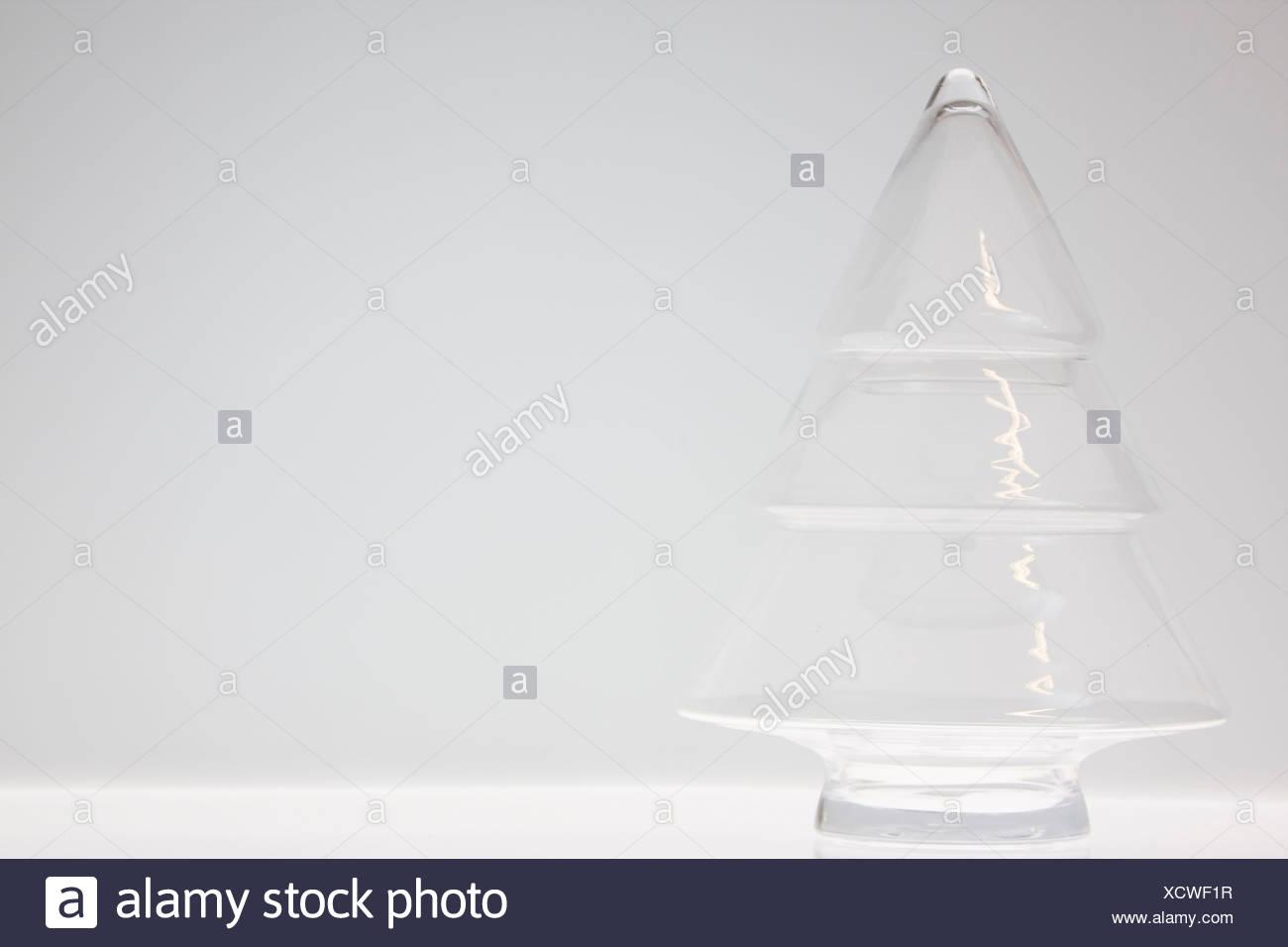 Glas-Christbaumkugeln Stockbild