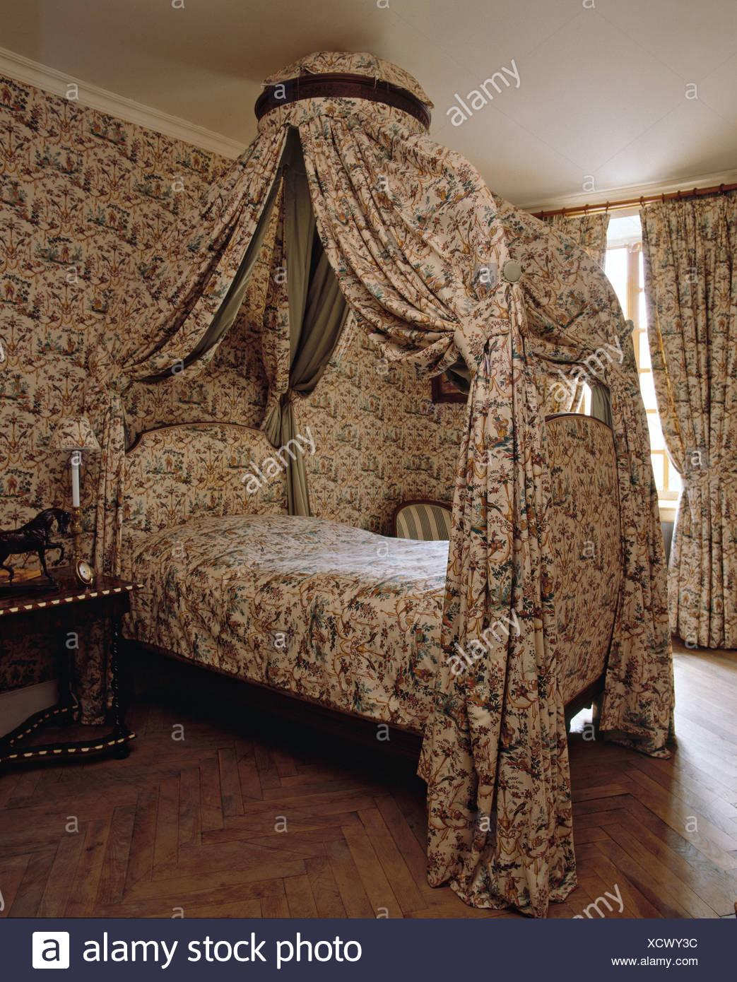 Landhaus Schlafzimmer Tapete