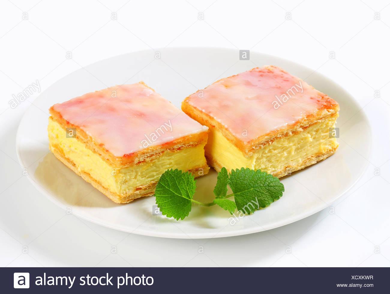 Lebensmittel Nahrungsmittel Suss Closeup Zucker Quadratische Platte