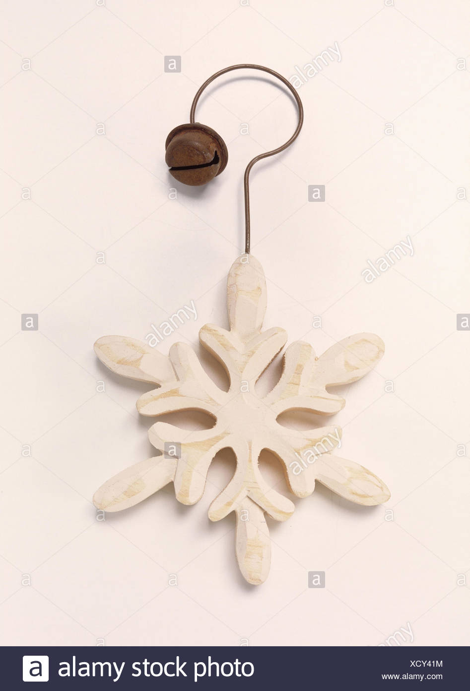 Weihnachtsdekoration Eiskristall Holzerne Weihnachten Weihnachten