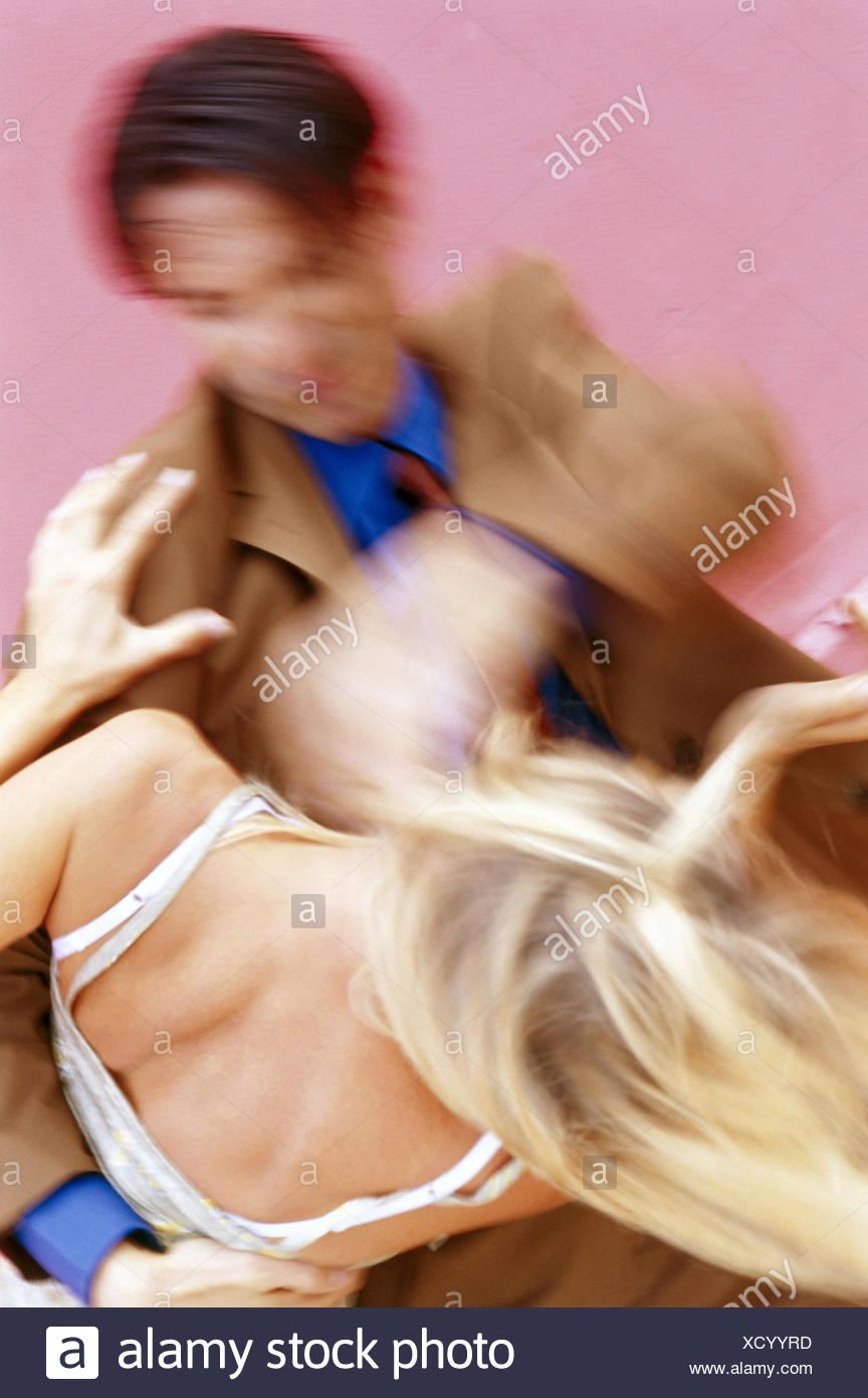 Paar, Kampf, Kraft, Schläge, Unschärfe, Erwachsene, Mann, Frau, treffen, erzwingen, heftig, ehelichen Streit, Konflikt, absichtlich, Brutalität, brutal, grausam, Grausamkeit, Gewalt, Körperverletzung, Misshandlung, Unmäßigkeit, Aggression, Aggressivität, Hit, Hilfe Stockbild