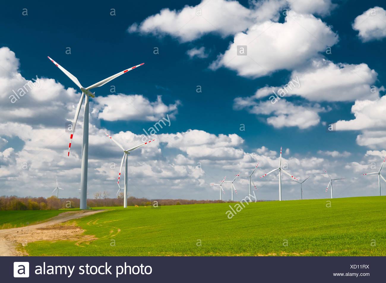 Propeller-Energie Stockbild