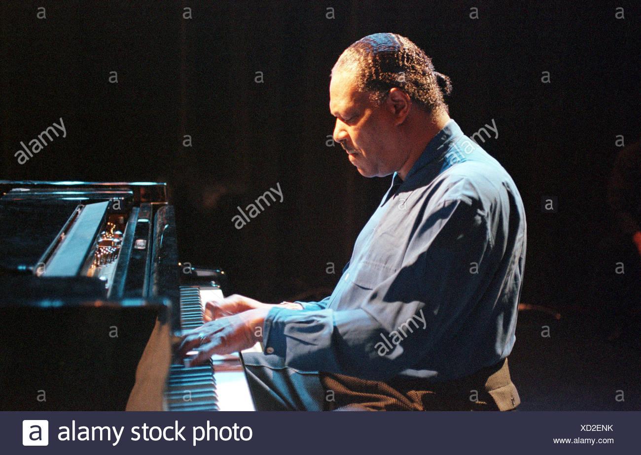 Jazz-Pianist McCoy Tyner, Berlin, Deutschland Stockbild