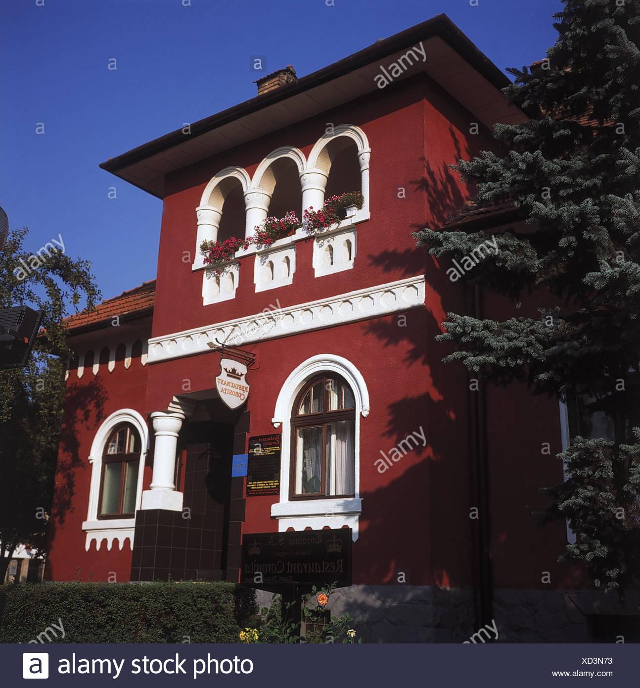 Rumanien Transsilvanien Bistrita Hotel Coroana De Aur