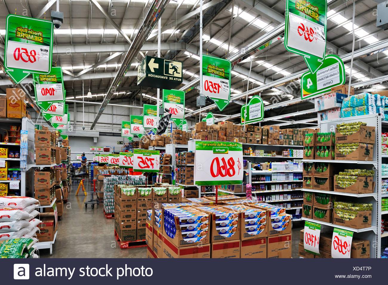 Supermarkt in der Nähe von Puntarenas, Costa Rica, Mittelamerika
