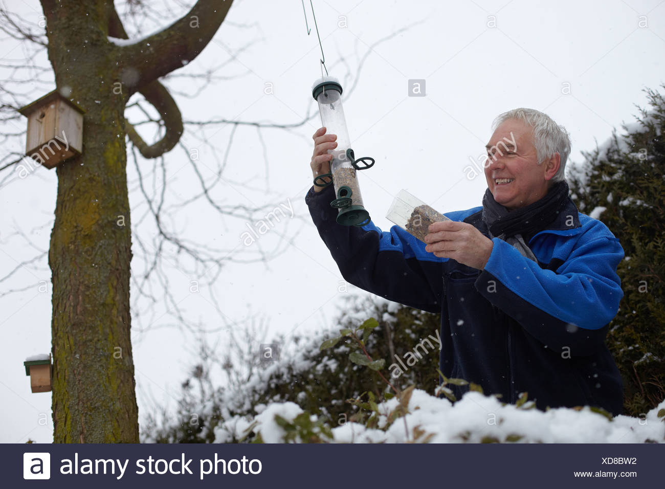 Garten Im Winter Stockfotos Garten Im Winter Bilder Alamy