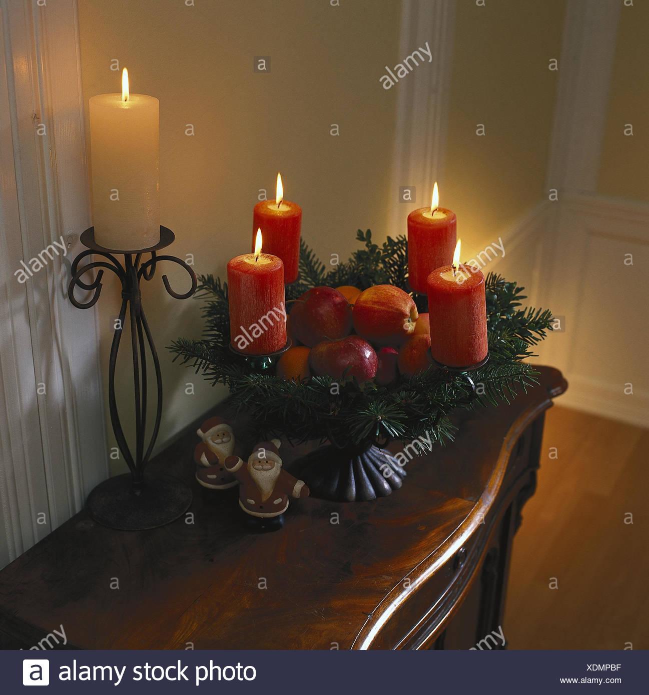 Advent kommode dekoration f r weihnachten peel - Dekoration advent ...