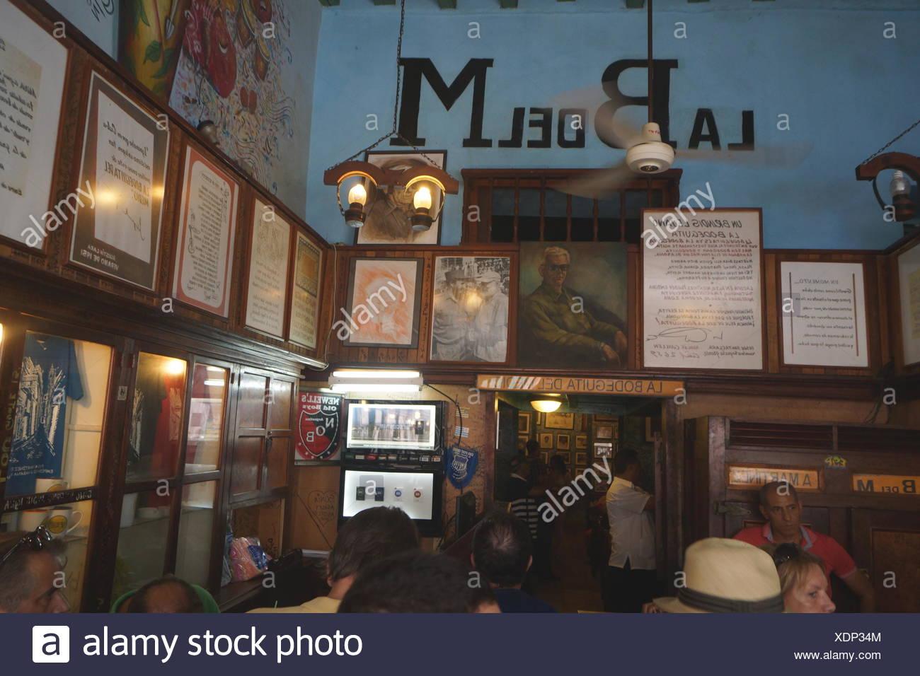 Bodeguita del Medio, Havanna Stockbild
