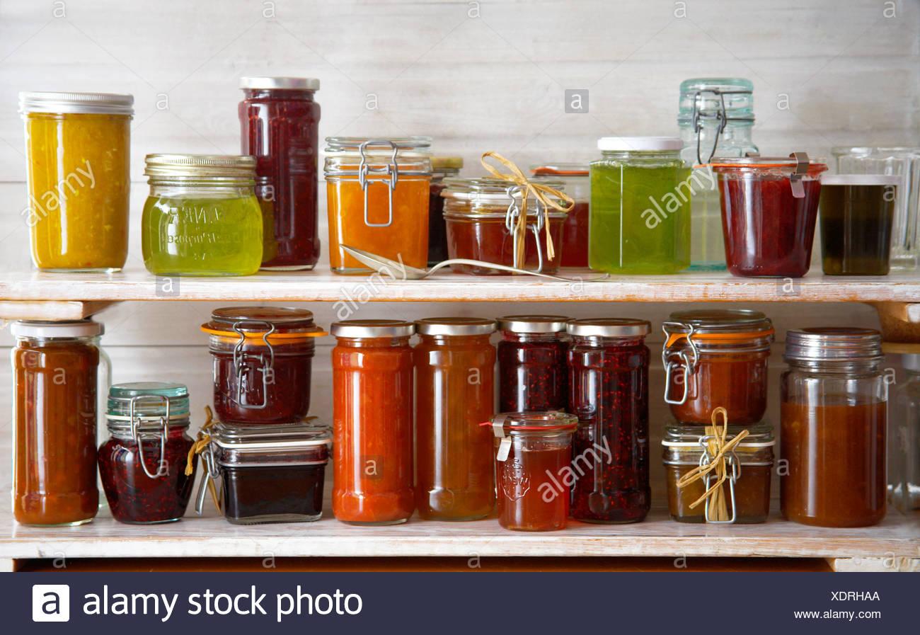 Gurkengl ser stockfotos gurkengl ser bilder alamy - Marmelade einkochen glaser ...