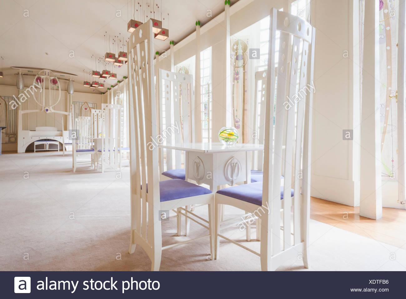 Schottische Möbel schottland glasgow bellahouston park haus für kunstliebhaber