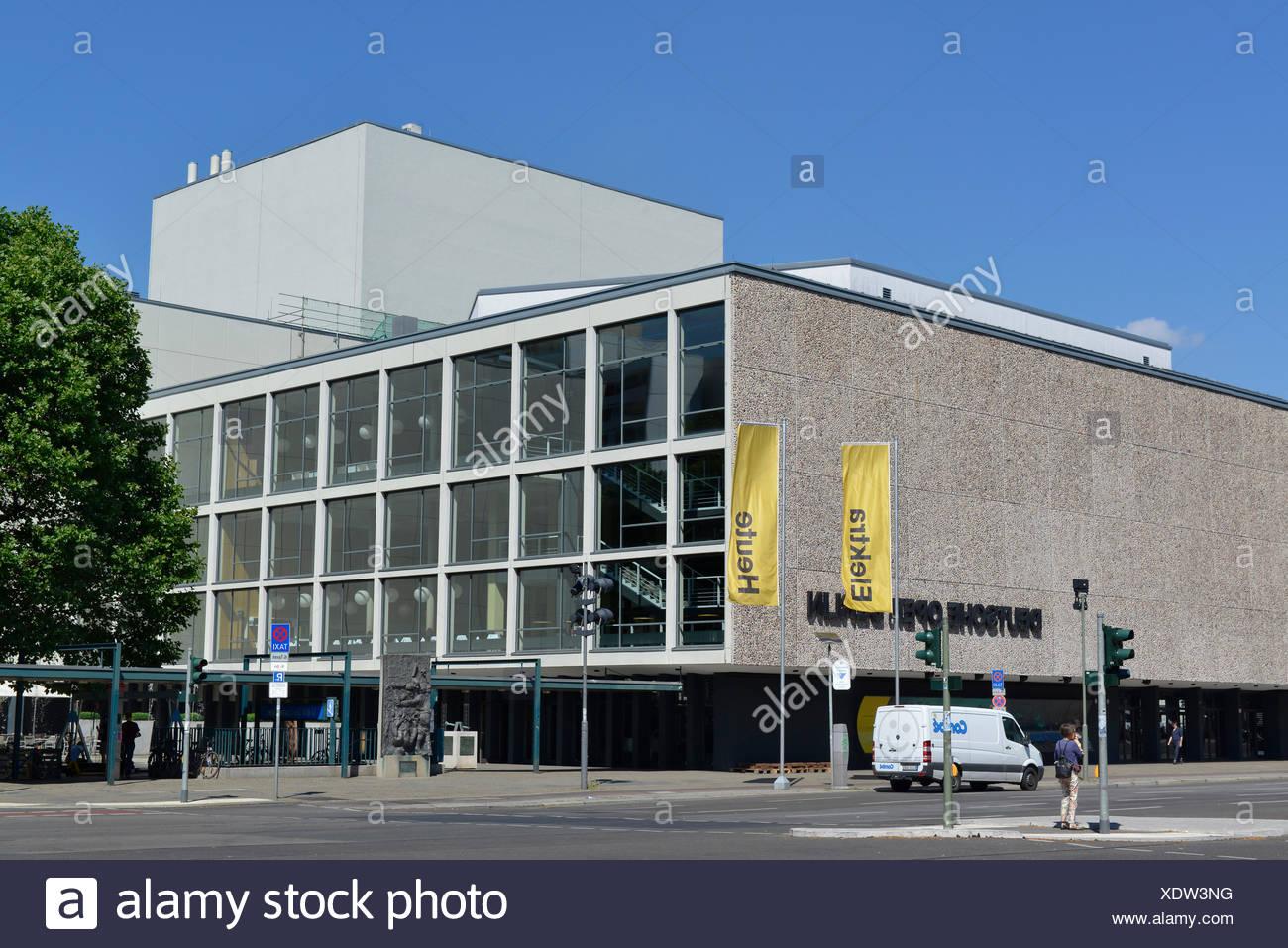 Deutsche Oper, Bismarckstraße, Charlottenburg, Berlin, Deutschland Stockbild