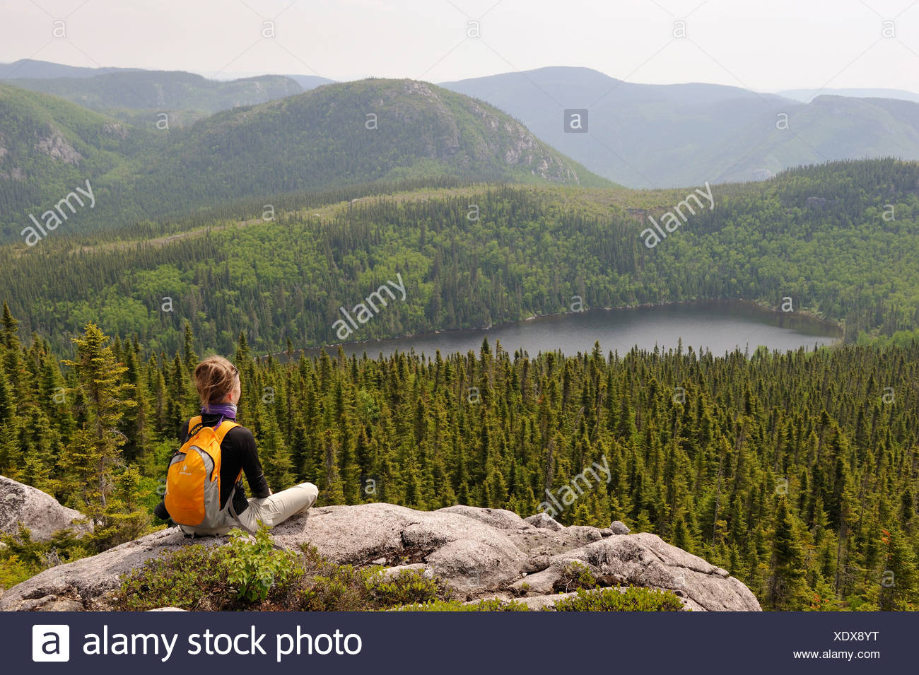 Grand Jardins National Park Quebec Canada Stockfotos & Grand Jardins ...