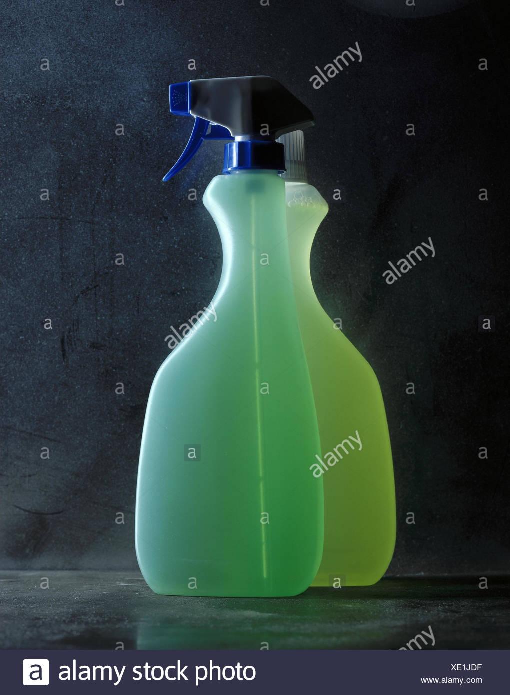 Reinigung Von Materialien Plastikflaschen Spray Artikel Haushalt