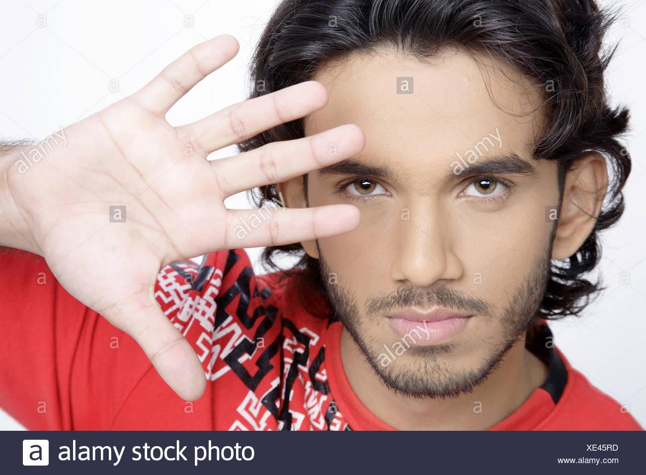 Schwarzes Teenager-Gesicht Gabriel schwulen Sex