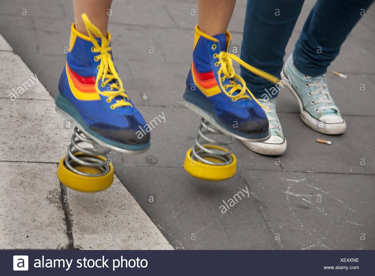Schuhe, Stockholm zu springen Stockfoto, Bild: 284079866 Alamy