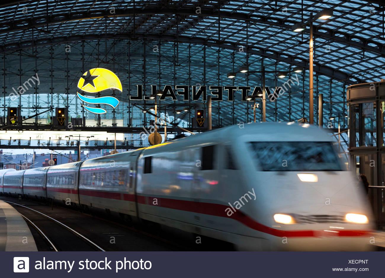 Berlin-Hauptbahnhof Stockbild