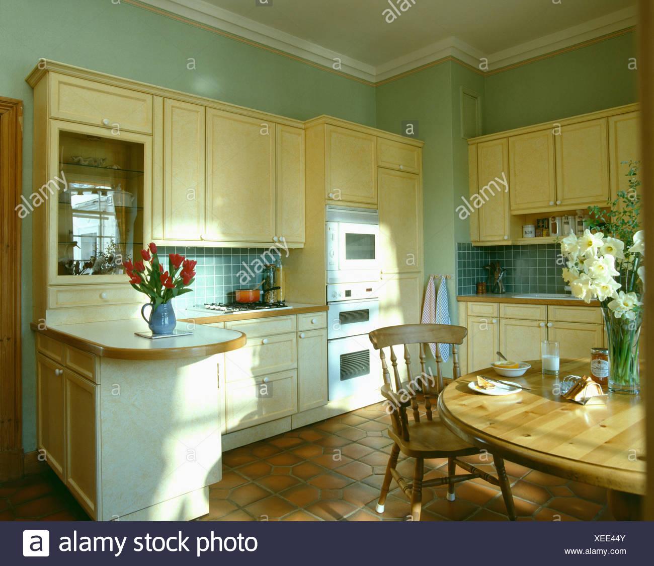 Tolle Grün Küchenwände Mit Holzschränke Fotos - Ideen Für Die Küche ...