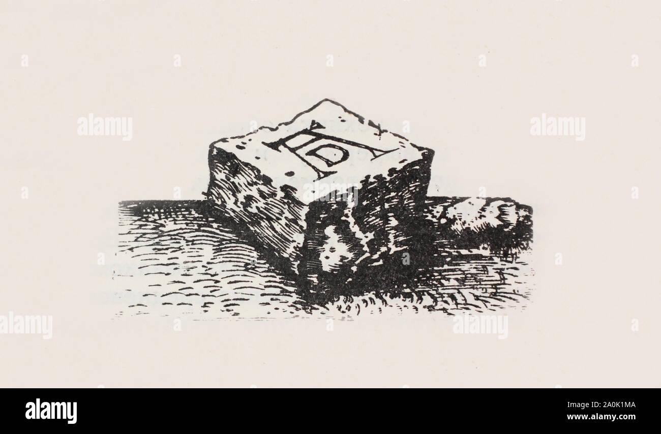 La imagen de marca de copyright de Albrecht Dürer (Durero, Duerer) Foto de stock