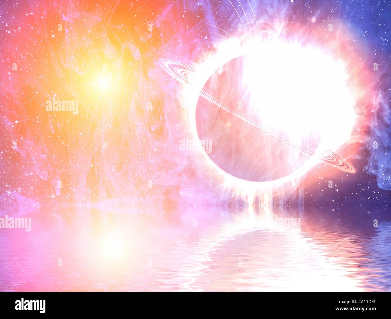 Resumen Antecedentes - elipse brillante colorido. Foto de stock