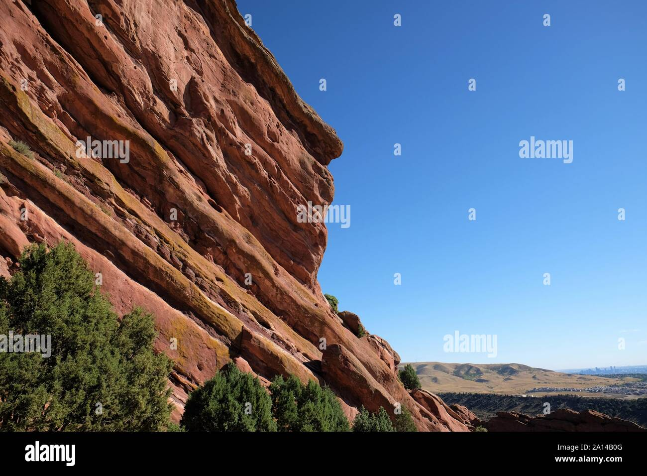 Red Rocks Park Foto de stock