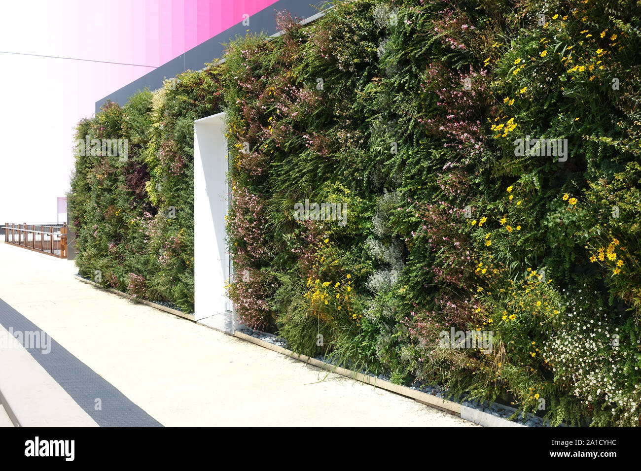 Mailand, Weltausstellung 2015, Future Food Court - Milano, la Expo 2015, Futuro Food Court. Foto de stock