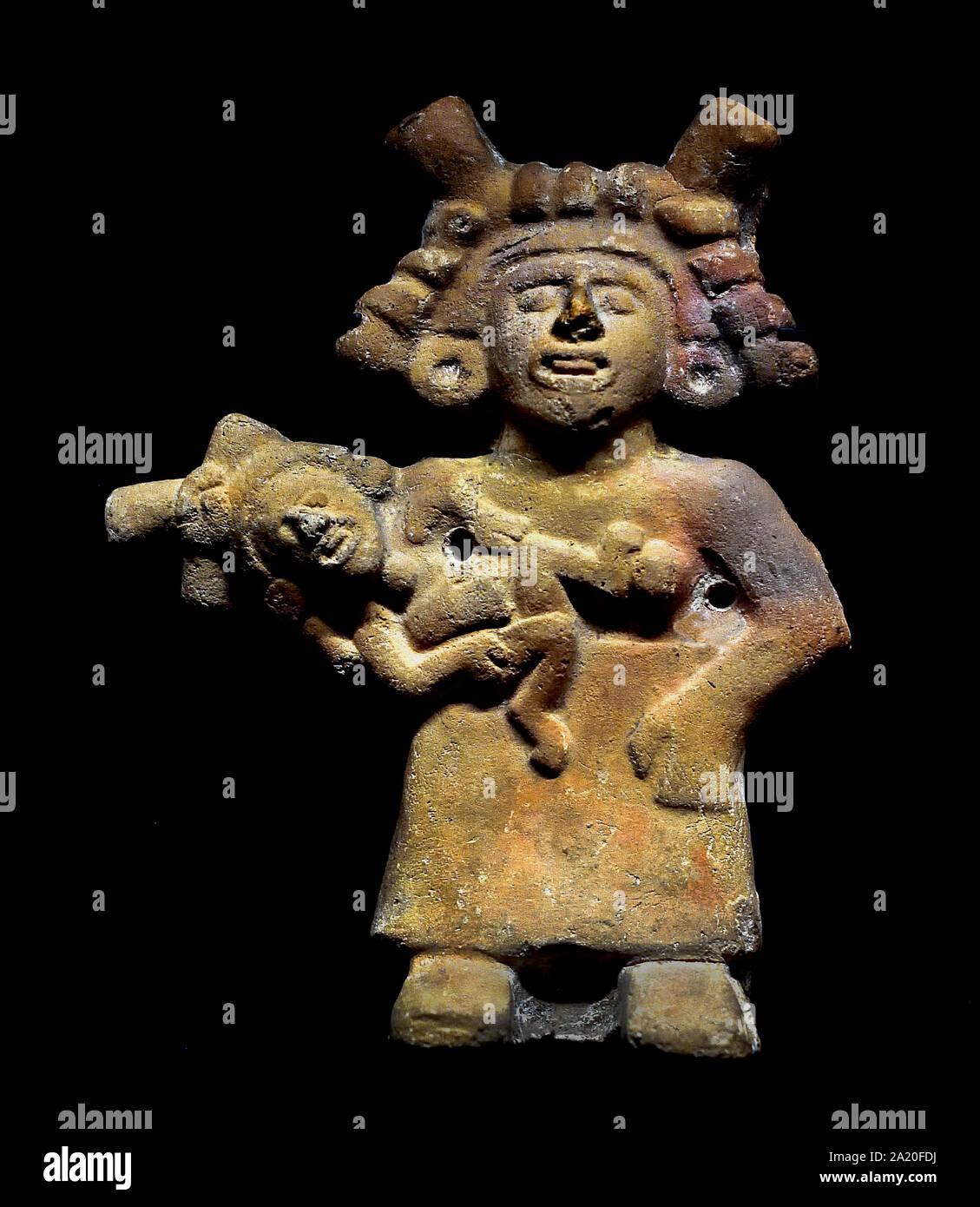 Chicoatl Diosa De La Fertilidad Los Aztecas La Cultura Mesoamericana En La Región Central De México Post Clásico De 300 A 1521 America American Fotografía De Stock Alamy