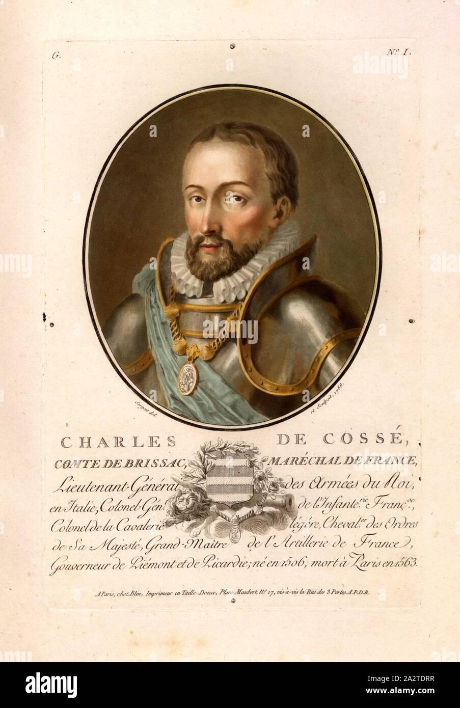 Resultado de imagen de Charles 1ro. de Cossé-Brissac