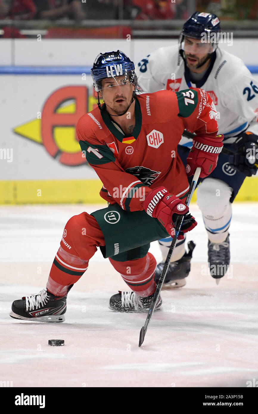 AUGSBURGER PANTHER DEL 19-20 PUCK #29 GILL