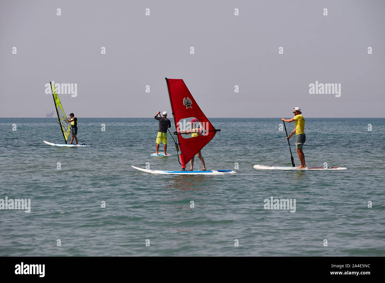 Windsurf #7 Foto de stock