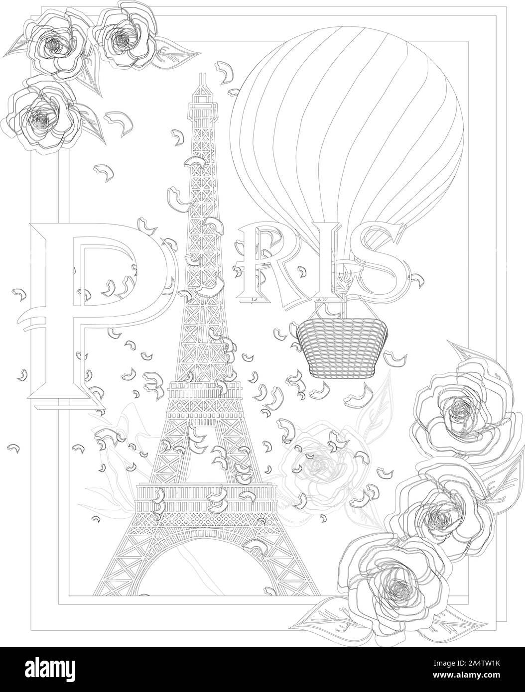 Tatuaje De La Torre Eiffel Imágenes De Stock Tatuaje De La