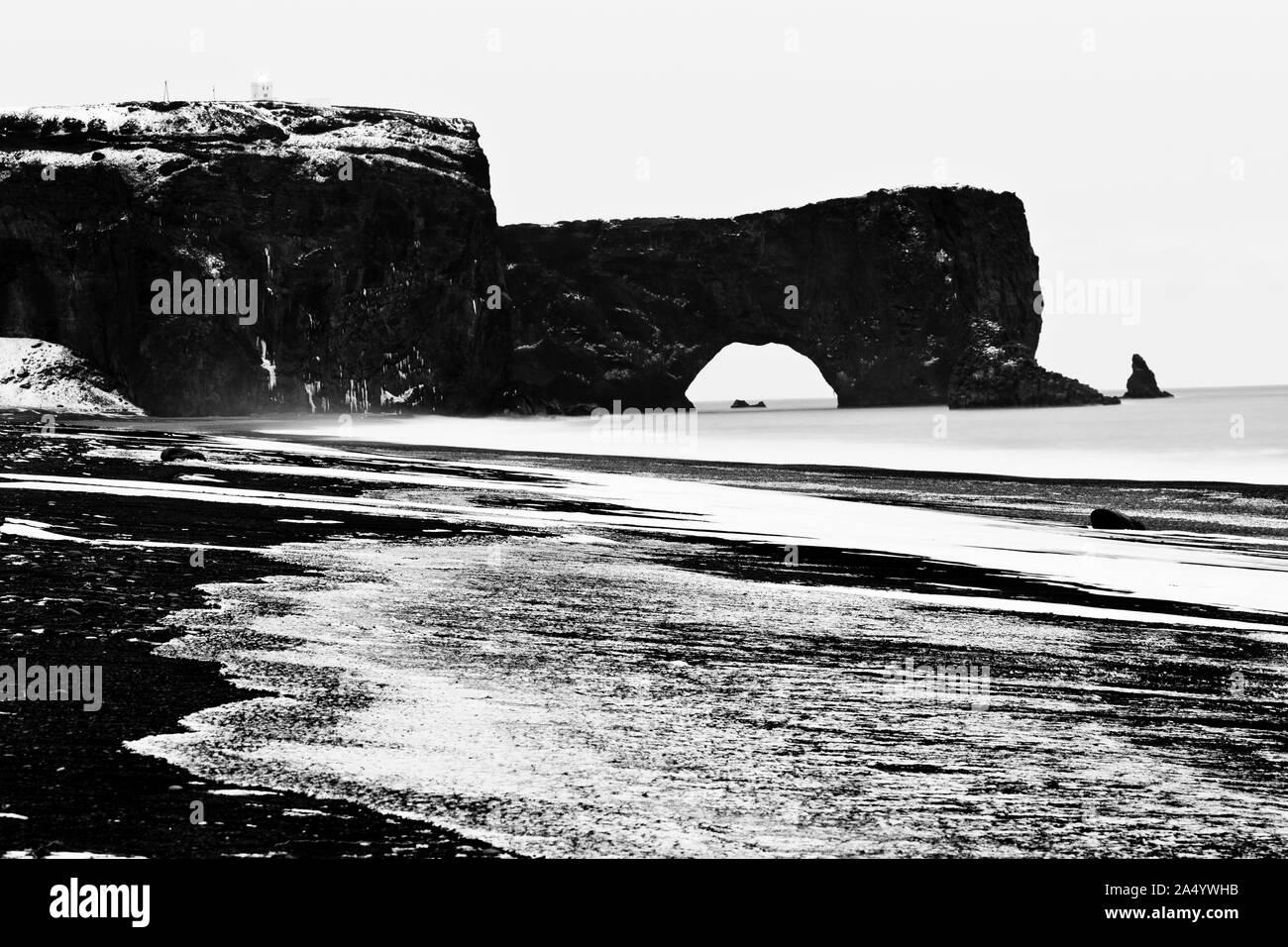 Dyrholaey, sur de Islandia, Islandia, Europa Foto de stock
