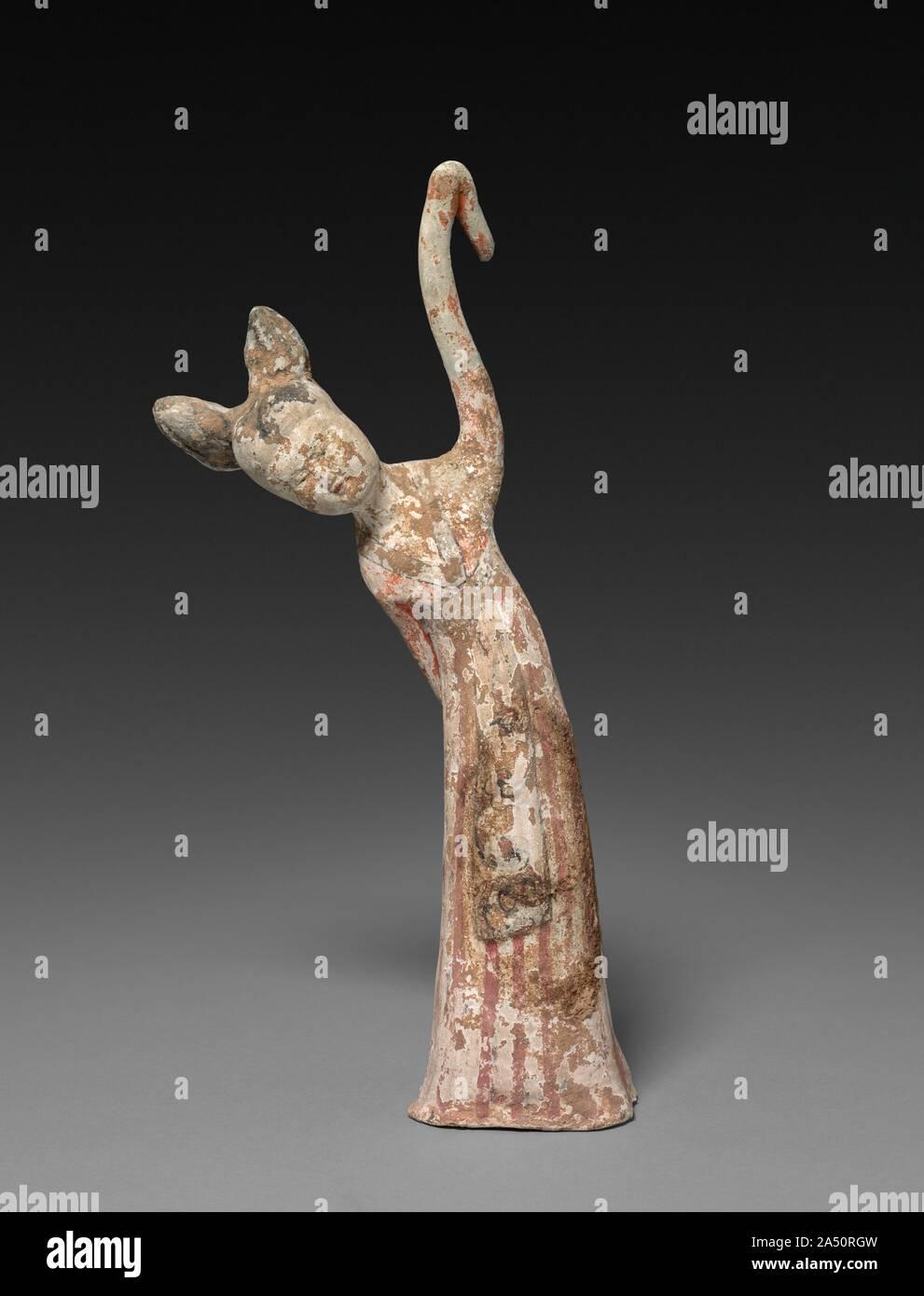 Bailarina: Tumba figurilla, segunda mitad siglo 7. Foto de stock