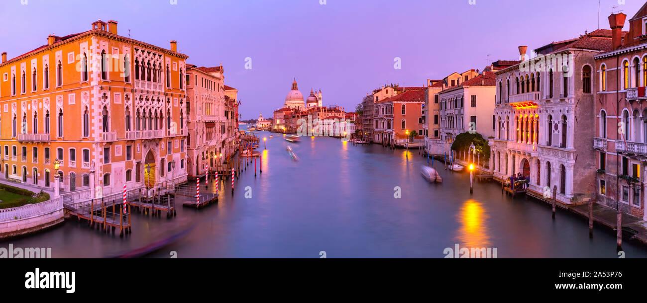 Santa Maria della Salute, Venecia Foto de stock