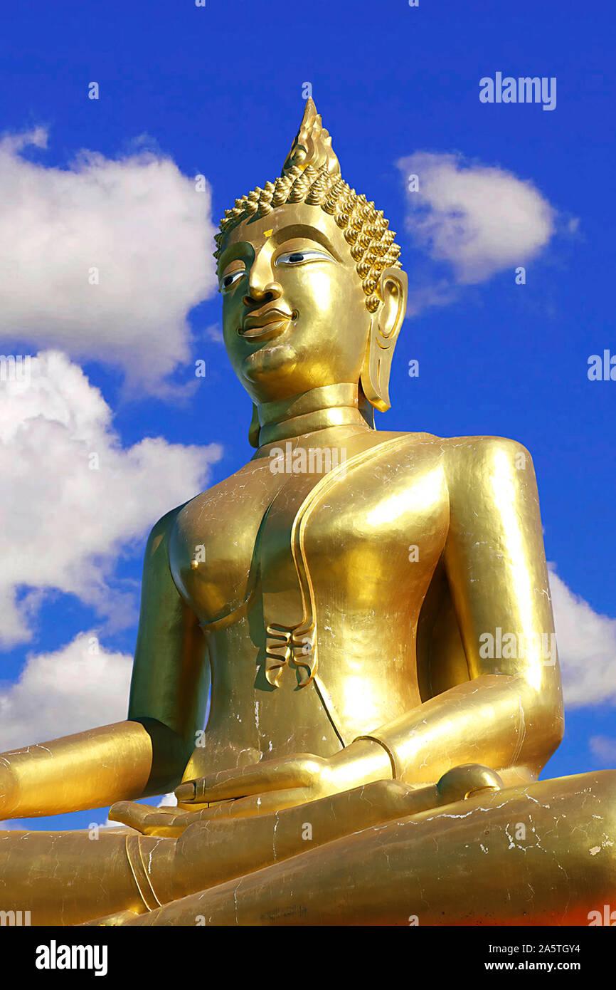 Big Buddha en Pattaya, Chon Buri, Tailandia Foto de stock