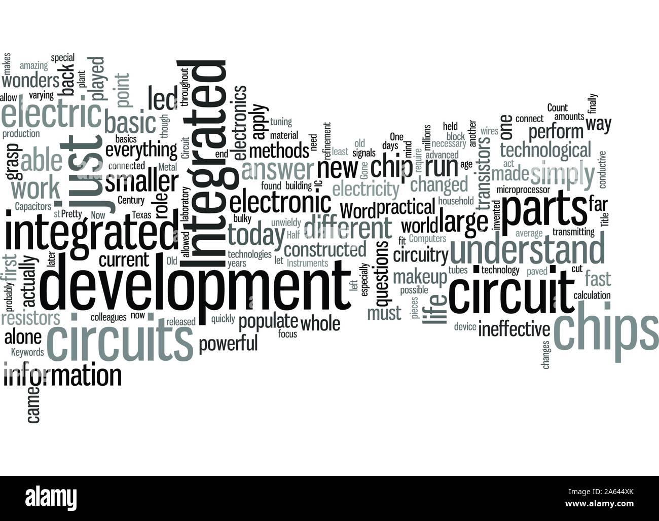 Circuitos integrados y cómo le afectan a usted Ilustración del Vector
