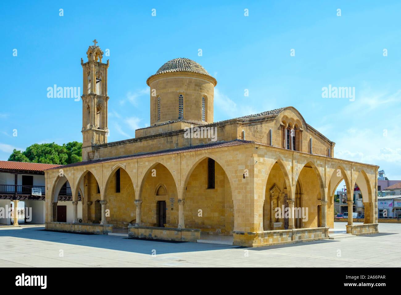 Iglesia de Agios Mamas de Morphou (Güzelyurt), Distrito de Nicosia Güzelyurt (distrito), Chipre (Chipre Septentrional). Foto de stock