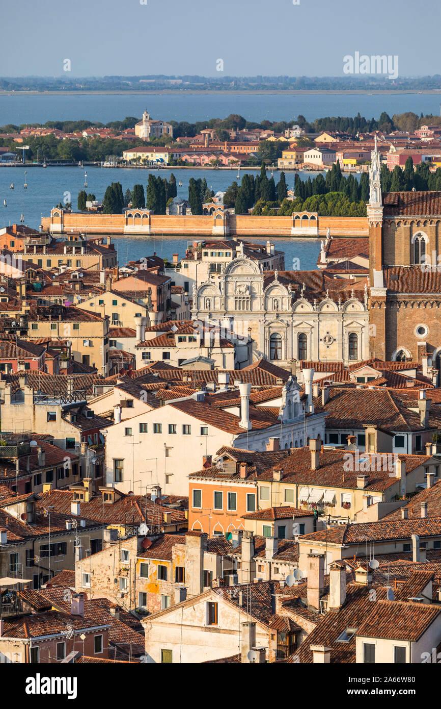 Área de Cannaregio de Venecia, Véneto, Italia Foto de stock