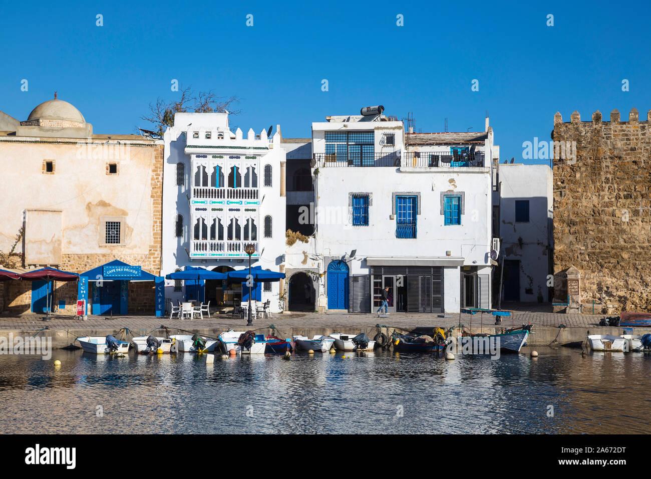 Túnez, Bizerta, El Puerto Viejo Foto de stock