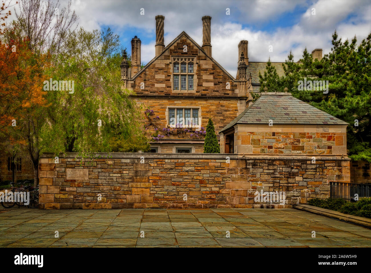 Berkeley College de la Universidad de Yale Foto de stock